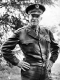 General Dwight Eisenhower, Supreme Commander, Allied Forces During World War II Foto