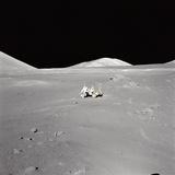 Apollo 17 Geologist-Astronaut Harrison H Schmitt at the Taurus-Littrow Landing Site Photographie