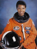 Dr Mae Jemison Was the First African-American Woman in Space Foto