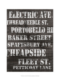 Streets of London II Poster av Andrea James