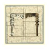Furniture Sketch IV Affiches van  Vision Studio