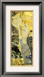 Serpentes d'água I, cerca de 1907 Impressão giclée emoldurada por Gustav Klimt