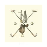 Polo Saddle Print by  Vision Studio