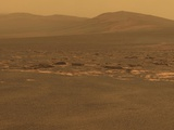 NASA's Mars Exploration Rover 'Opportunity' Recorded This Image on Aug 6, 2011 Foto