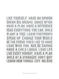 Words Kunst av Andrea James