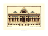Architectural Facade III Giclée-Premiumdruck von Jean Deneufforge