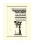 Crackled B&W Column and Cornice III Prints by Giovanni Borra