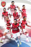 Arsenal FC 2012/13 Players Prints