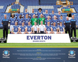 Everton FC 2012/13 Team Photo Affiches