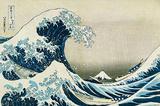 The Great Wave Off Kanagawa Láminas por Katsushika Hokusai