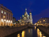 Church of the Saviour of Spilled Blood, Saint Petersburg, Russia Fotografie-Druck von Walter Bibikow