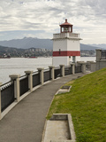 Brockton Point Lighthouse, Stanley Park, Vancouver, British Columbia, Canada Photographic Print by William Sutton