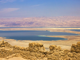 Masada Ruins, Dead Sea, Israel Photographic Print by Keren Su