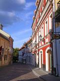 Pilias Street, Vilnius, Lithuania Photographic Print by Miva Stock