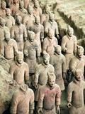 Qin Shi Huang Di Mausoleum with Terracotta Warriors, Xi'An, China Stampa fotografica di Miva Stock