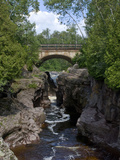 Temperance River State Park, Schroeder, Minnesota, USA Photographic Print by Peter Hawkins