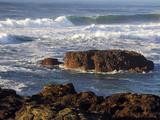Incoming Tide at Yachats, Yachats, Oregon, USA Photographic Print by Michel Hersen