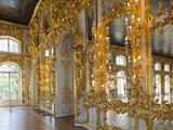 Catherine Palace, Pushkin-Tsarskoye Selo, Saint Petersburg, Russia Fotografie-Druck von Walter Bibikow
