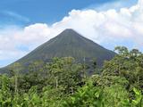 Arenal Volcano, Arenal Volcano National Park, Costa Rica Stampa fotografica di Miva Stock