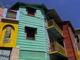 La Boca Neighborhood, Buenos Aires, Argentina Reproduction photographique par Kymri Wilt
