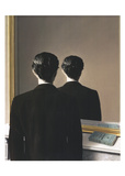 La Reproduction interdite, 1937 Plakater av Rene Magritte