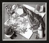 Répteis Posters por M. C. Escher