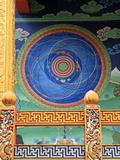The Cosmic Mandala, Punakha, Bhutan Reproduction photographique par Kymri Wilt