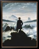 O Andarilho Sobre o Mar de Neblina, c.1818 Pôsteres por Caspar David Friedrich