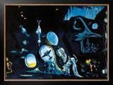 Idylle Atomique Prints by Salvador Dalí