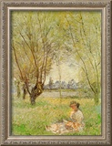 Woman Under the Willows Posters by Claude Monet