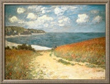 Path Through the Corn at Pourville, c.1882 Posters by Claude Monet