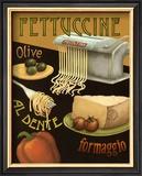 Fettuccine Prints by Daphne Brissonnet