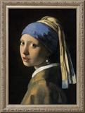 Garota com brincos de pérola Pôsters por Johannes Vermeer