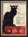 Tournée du Chat Noir, c.1896 Pôsters por Théophile Alexandre Steinlen