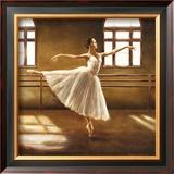 Ballet Dancer Print by Cristina Mavaracchio