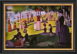 A Sunday on La Grande Jatte 1884, 1884-86 Posters por Georges Seurat