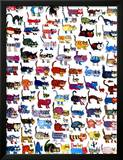 100 Cats and a Mouse Poster by  Vittorio