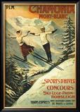 Chamonix Poster por Francisco Tamagno
