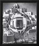 Balcony Arte por M. C. Escher