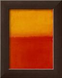 Orange and Yellow Arte por Mark Rothko