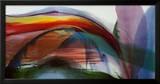 Ondas fenômenos sem vento, 1977 Posters por Paul Jenkins