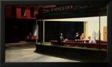 Notívagos, cerca de 1942 Posters por Edward Hopper