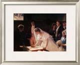 Signing the Register Prints by Edmund Blair Leighton