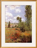 Ile St. Martin Posters por Claude Monet