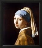 Garota com brincos de pérola Posters por Johannes Vermeer