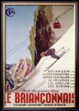 Brianconnais Poster por  Poissonnie