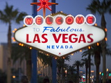Welcome to Las Vegas Sign, Las Vegas, Nevada, United States of America, North America Photographic Print by Gavin Hellier
