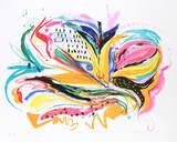Bird of Paradise IV Samlertryk af Vick Vibha