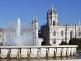 Mosteiro Dos Jeronimos, UNESCO World Heritage Site, Belem, Lisbon, Portugal, Europe Reproduction photographique par Stuart Black