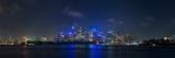 City Skyline and Harbour Bridge at Night, Sydney, New South Wales, Australia, Pacific Reproduction photographique par Giles Bracher